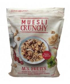 Muesli crunchy aux fruits 450g