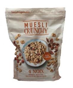 Muesli crunchy aux noix 450g