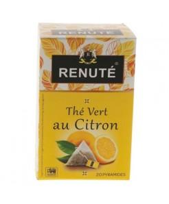 Thé vert au citron 20 sachets