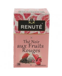 Thé noir aux fruits rouges 20 sachets