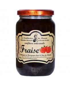 Confiture artisanale à la fraise 380g