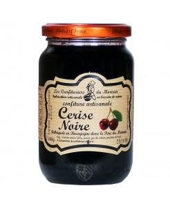 Confiture artisanale aux cerises noires 380g