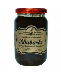 Confiture artisanale à la rhubarbe 380g