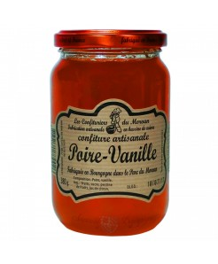 Confiture artisanale poire/vanille 380g