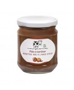 Pâte à tartiner aux noisettes et huile d'olive BIO 200g