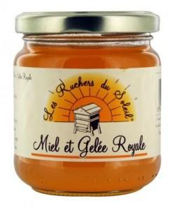 Préparation de miel et gelée royale 250g
