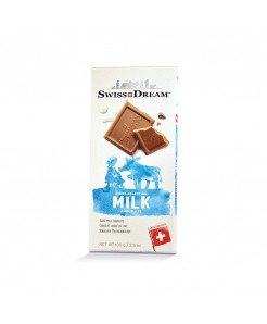Tablette chocolat suisse au lait 100g