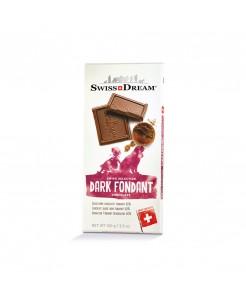 Tablette chocolat suisse noir fondant 60%