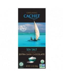 Tablette chocolat noir fleur de sel BIO 100g
