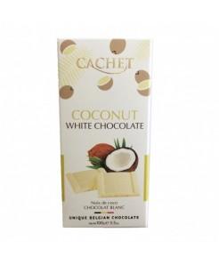 Tablette chocolat blanc coco 100g