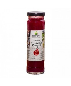 Coulis aux 4 fruits rouges 156ml