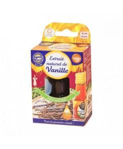Extrait naturel de vanille bouteille 20ml