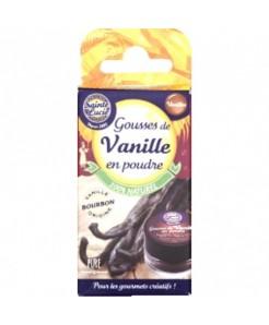 Gousses de vanille en poudre paquet de 3g