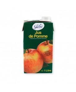 Jus de pomme en brique sans sucre ajouté 1l