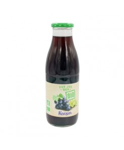 Pur jus de raisin BIO 75cl