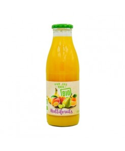 Pur jus multifruits BIO 100% fruits 75cl