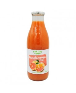 Pur jus pamplemousse rose 100% fruits 1l