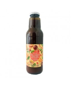 Boisson goji, orange et fruit de la passion sans sucre ajouté 75cl