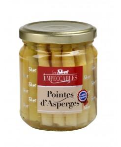 Pointes d'asperges françaises 190g net