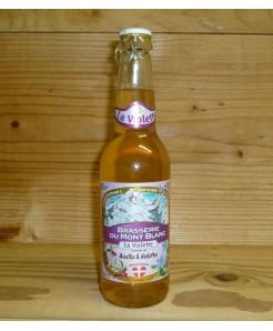 Bière Mont-Blanc violette