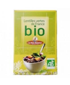 Lentilles vertes de France BIO 500g