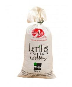 Lentilles vertes du berry  Label rouge 500g