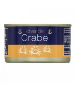 Chair de crabe blanche 121g