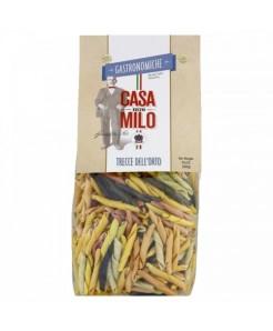 Trecce dell'orto artisanal à la semoule de blé dur et légumes déshydratés 500g