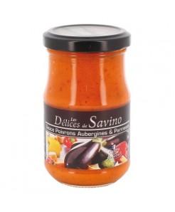 Sauce tomate aux légumes et parmesan 190g