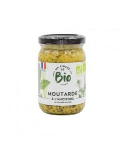 Moutarde à l'ancienne au vinaigre de cidre BIO 200g