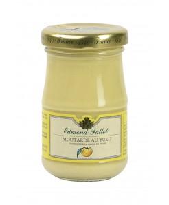 Moutarde au yuzu fabriqué à la meule de pierre 105g