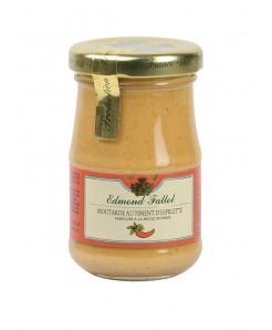 Moutarde au piment d'espelette fabriqué à la meule de pierre 105g