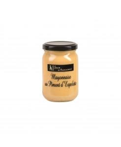 Mayonnaise au piment d'espelette 180g