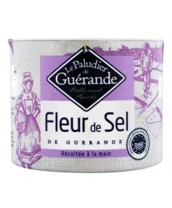 Fleur de sel de guérande IGP récolté à la main 125g