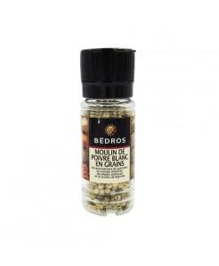 Moulin à poivre blanc en grains 55g