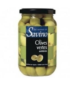 Olives vertes entières 37cl du Maroc