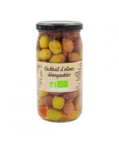 Cocktail d'olives dénoyautées BIO 370ml