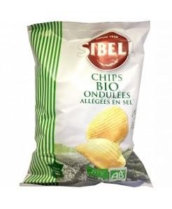 Chips ondulé BIO allégé en sel 130g