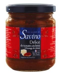 Délice de tomates séchées et fromage de chèvre 180g