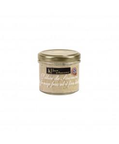 Délice de saumon au fromage frais ail et fines herbes 90g