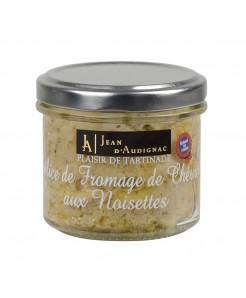 Délice de fromage de chèvre aux noisettes 100g