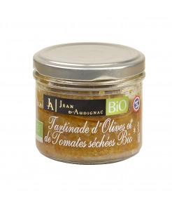 Tartinade d'olives et tomates séchées BIO 100g