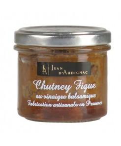 Chutney de figue au vinaigre balsamique 100g