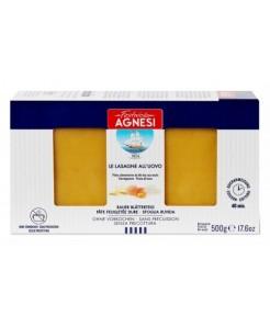 Pâte feuilletée de blé dur aux oeufs pour Lasagnes 500g