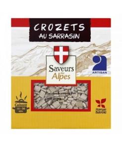 Crozet au sarrasin à la farine de blé, sarrasin et oeuf 400g