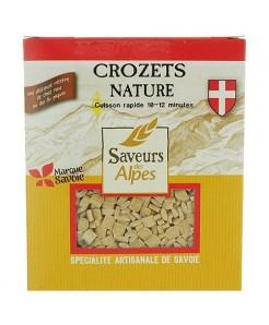 Crozet nature artisanal à la farine de blé français et oeuf 400g