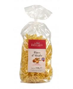 Pâtes d'Alsace Tagliatelles à la semoule de blé dur et oeufs frais plein air 250g