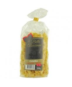 Carolles à la semoule de blé dur et oeufs frais plein air 250g