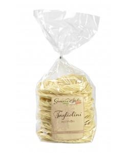 Tagliolini artisanale aux truffes à base de semoule de blé et oeuf 250g