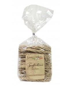 Tagliolini artisanale aux cèpes à base de semoule de blé et oeuf 250g
